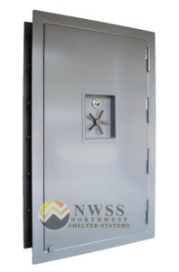NWSS Imbed Concrete Blast Door