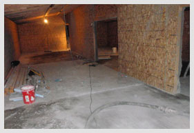 Inside A Bomb Shelter Construction